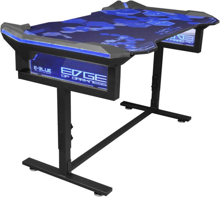 E-Blue EGT004, RGB LED, černá/modrá
