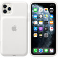 Apple iPhone 11 Pro Max Smart Battery Case with Wireless Charging, white