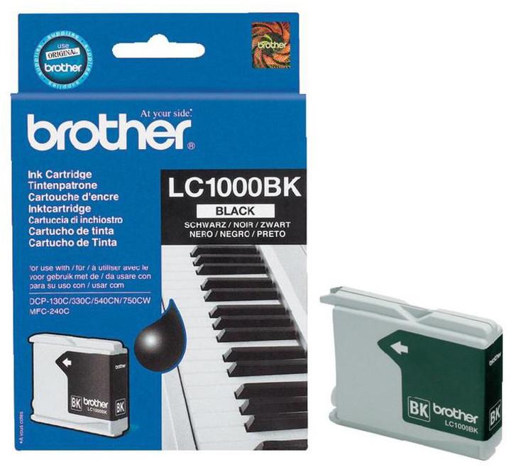 Brother LC-1000BK, černá