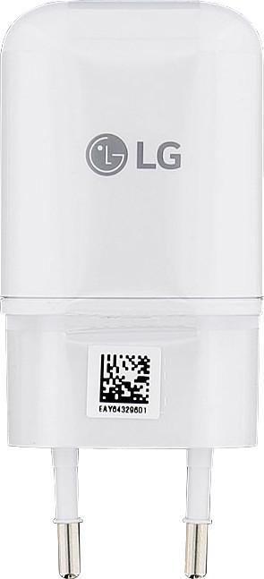 LG USB Cestovní Dobíječ White (Bulk)