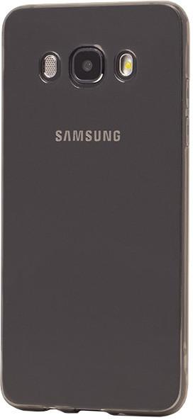 EPICO pružný plastový kryt pro Samsung Galaxy J5 (2016) RONNY GLOSS - černý transparentní