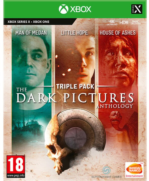 The Dark Pictures Anthology: Triple Pack (Man of Medan, Little Hope House of Ashes) (Xbox)