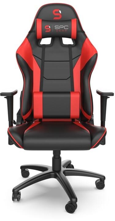 SPC Gear SR300 V2 RD, černá/červená