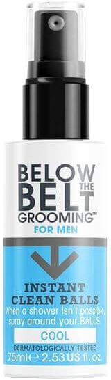 Below the Belt Cool mycí sprej na intimní partie pro muže 75 ml