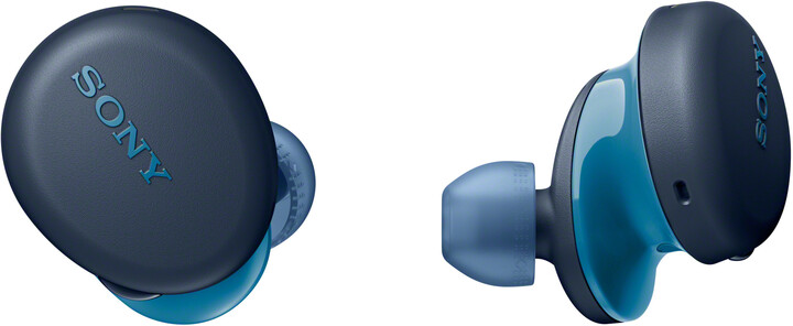 Sony WF-XB700, modrá