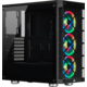 Corsair iCue 465X RGB, černá