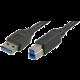 Akasa USB 3.0, A-B (A-M/B-M) - 1,5m