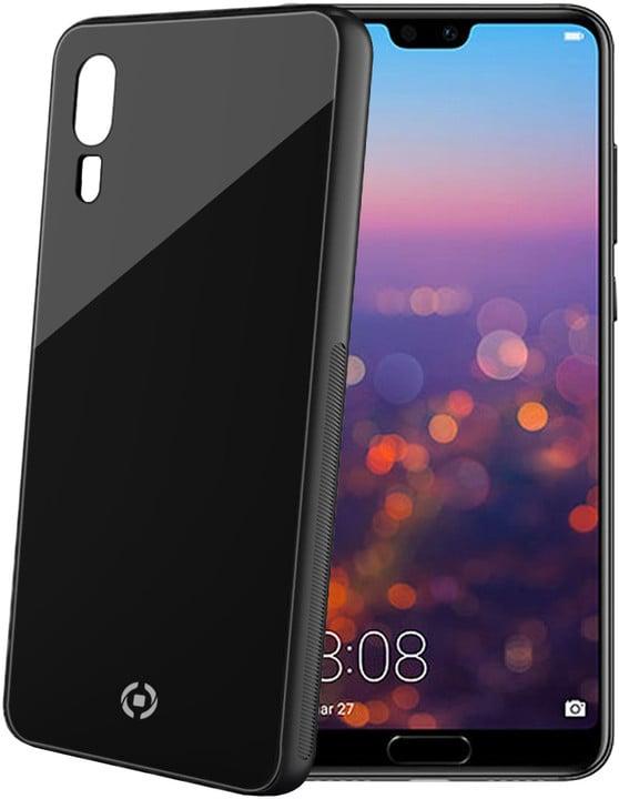 CELLY Diamond z tvrzeného skla a TPU pro Huawei P20, černá