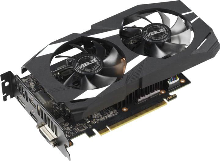 ASUS GeForce GTX 1660 Ti DUAL-GTX1660TI-O6G, 6GB GDDR6
