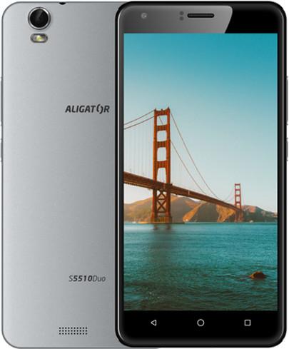 Aligator S5510 - 8GB, Dual Sim, šedá