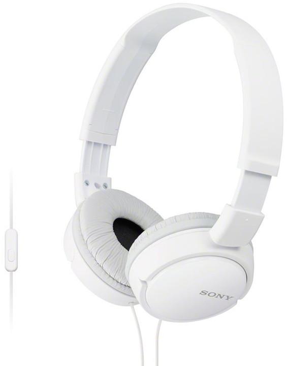 Sony MDR-ZX110AP, bílá