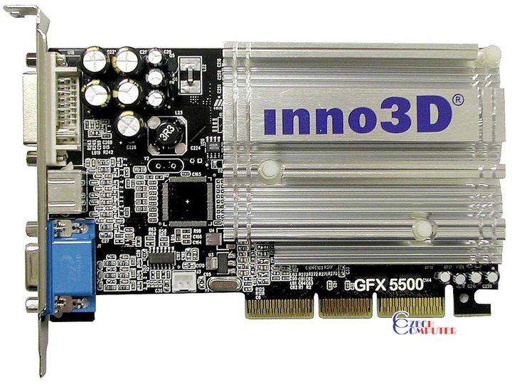 INNO3D GEFORCE FX 5500 DRIVERS (2019)