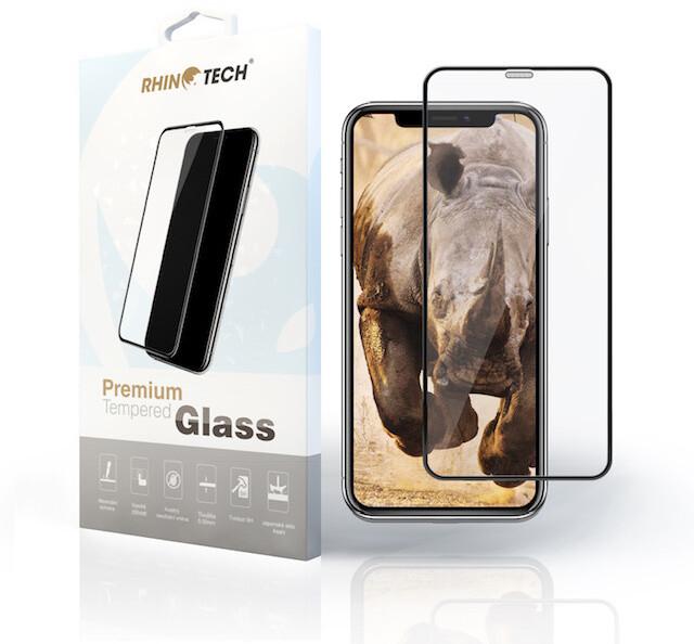 RhinoTech 2 tvrzené ochranné 2.5D (Full Glue) sklo pro Huawei Nova 3i, černá