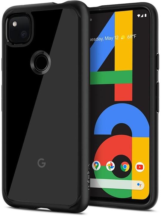 Spigen ochranný kryt Ultra Hybrid pro Google Pixel 4a, černá