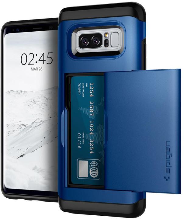 Spigen Slim Armor CS pro Galaxy Note 8, deep blue