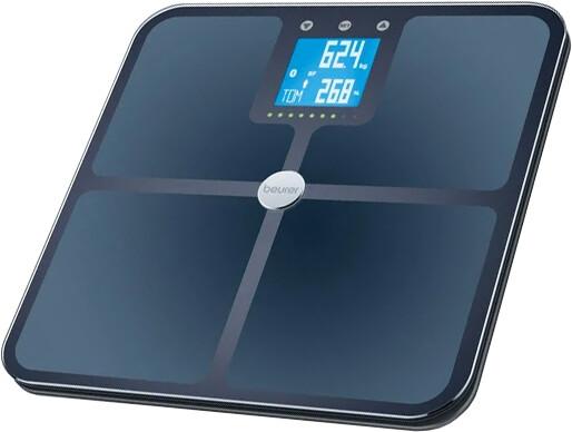 BEURER diagnostická váha BF 950, Bluetooth, černá