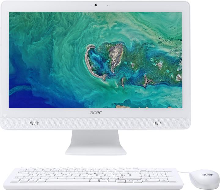 Acer Aspire C 20 (AC20-720), bílá