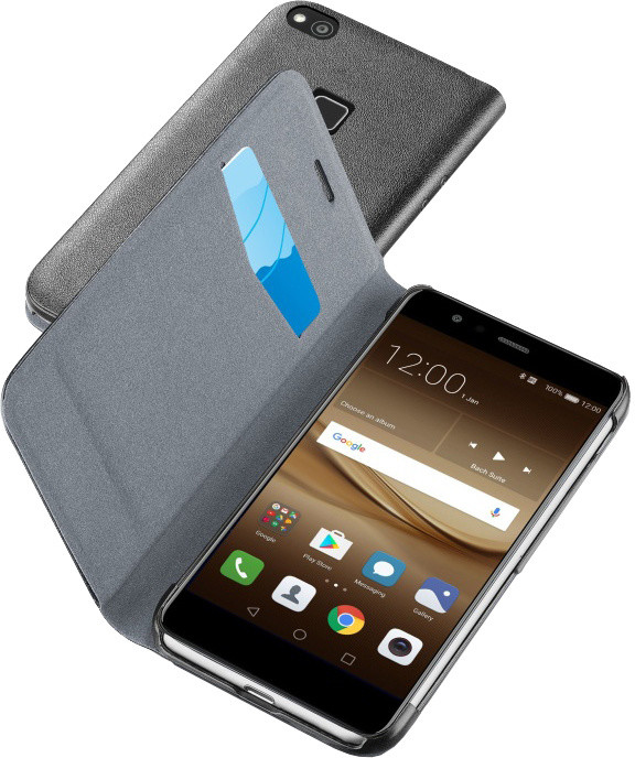 CellularLine Book Essential pouzdro typu kniha pro Huawei P10 Lite, černé