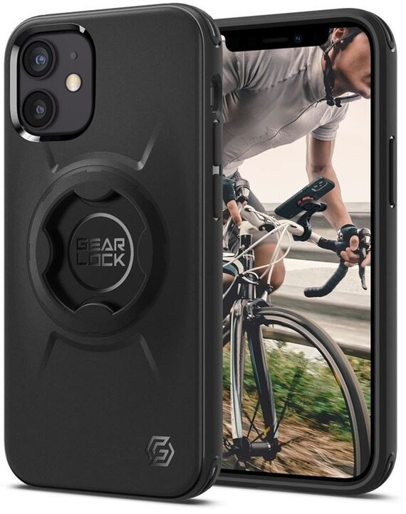 Spigen pouzdro Gearlock po iPhone 12 mini, černá