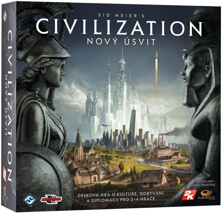 Desková hra Sid Meiers Civilization: Nový úsvit