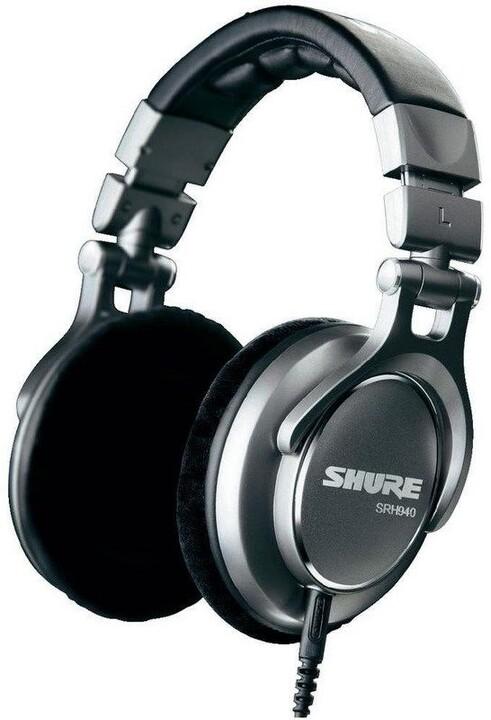 Shure SRH940, stříbrná