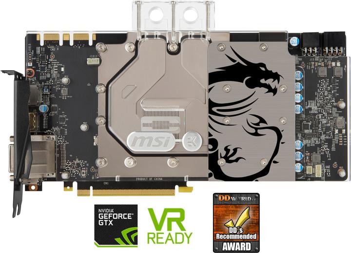 MSI GeForce GTX 1080 SEA HAWK EK X, 8GB GDDR5X