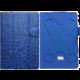 "PORTCASE pouzdro na tablet PC, TBL-570NV, 7-8"", EKO kůže, modré"