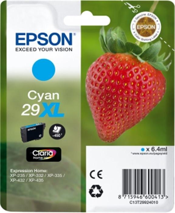 Epson C13T29924010, XL, azurová