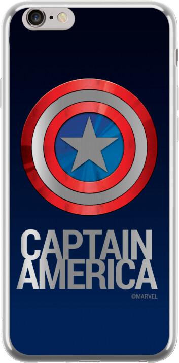 MARVEL Captain America 001 zadní kryt pro Huawei P20 Lite, stříbrná