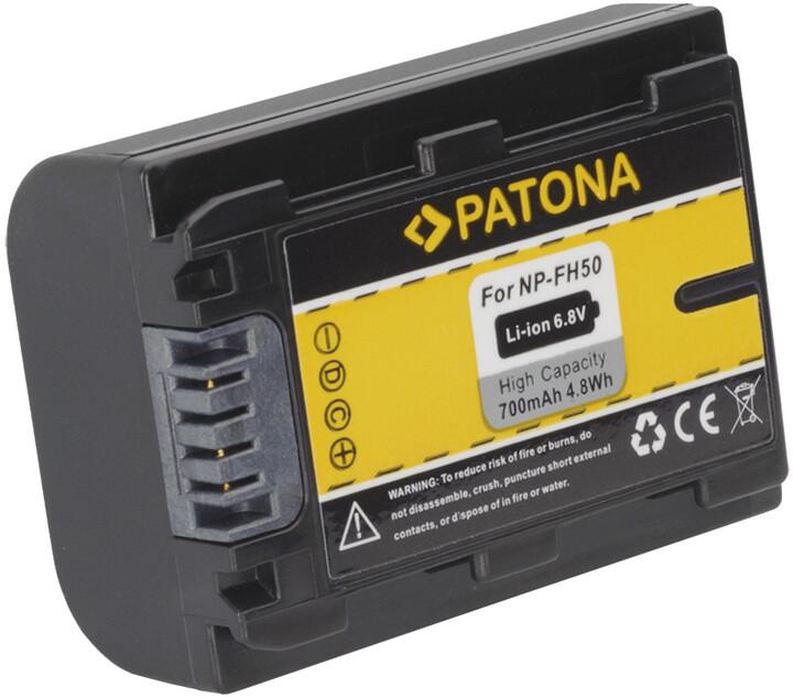 Patona baterie pro Sony NP-FH50 700mAh Li-Ion
