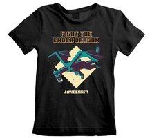 Tričko Minecraft: Ender Dragon, dětské, (3-4 let) - MIN01421TKB3-4