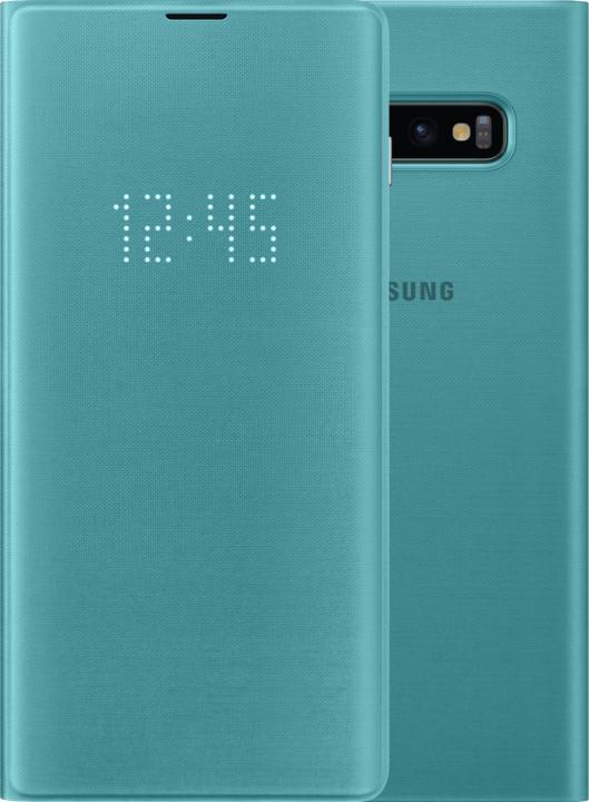 Samsung LED View flipové pouzdro pro Samsung G975 Galaxy S10+, zelená