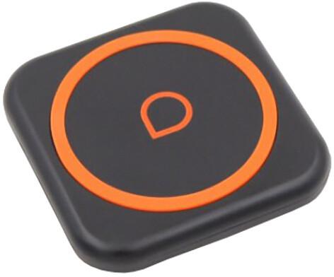 Apei Qi P3 Wireless Charging Pad, černá/oranžová