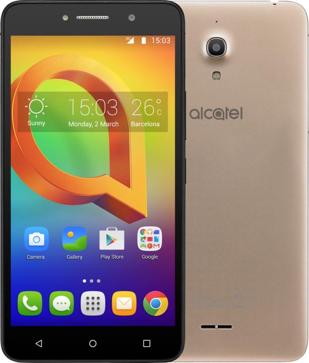 ALCATEL A2 XL 8050D, zlatá