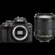 Nikon D3400 + 18-105 VR, černá  + Nikon CF-EU11 systémová brašna v ceně 590 Kč + 1300Kč zpět od Nikonu