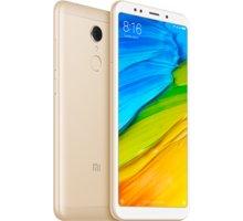Xiaomi Redmi 5 Global - 16GB, zlatá  + Při nákupu nad 500 Kč Kuki TV na 2 měsíce zdarma vč. seriálů v hodnotě 930 Kč