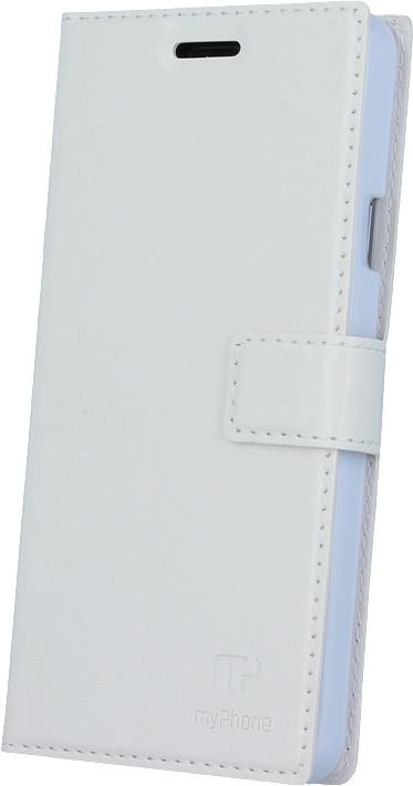myPhone pouzdro s flipem pro PRIME PLUS, bílá