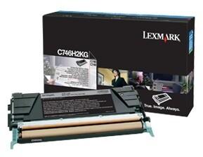 Lexmark C746H2KG, černá