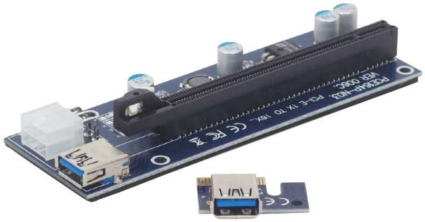 CABLEXPERT PCI-Express riser RC-PCIEX-03