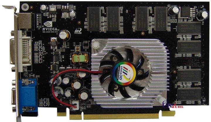Inno3D GeForce PCX6600 256MB, PCI-E