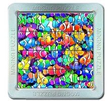 Puzzle Piatnik Rybičky, magnetické, 3D, 16 dílků - 21010