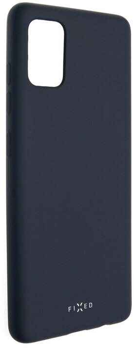 FIXED Story zadní pogumovaný kryt pro Samsung Galaxy A51, modrá