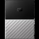 WD My Passport ULTRA METAL - 4TB, černá/šedá