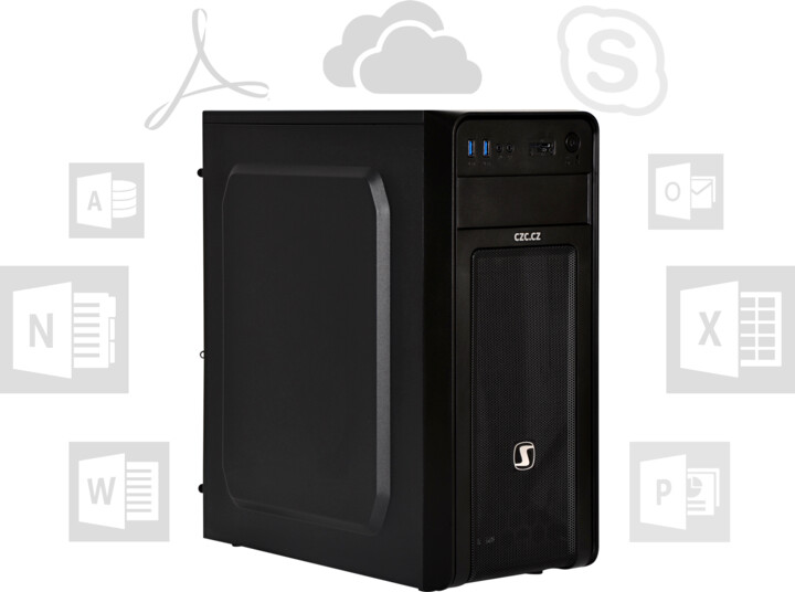 CZC PC OFFICE i7 SSD + HDD - bez OS