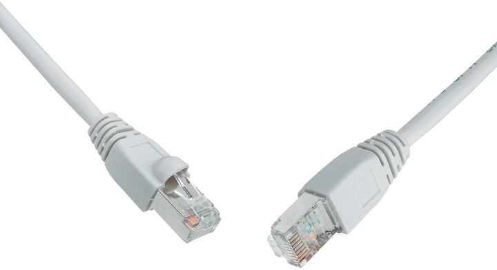 Solarix Patch kabel CAT6 SFTP PVC 2m šedý snag-proof