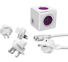 PowerCube Rewirable USB + Travel Plugs + IEC kabel - 8718444083450