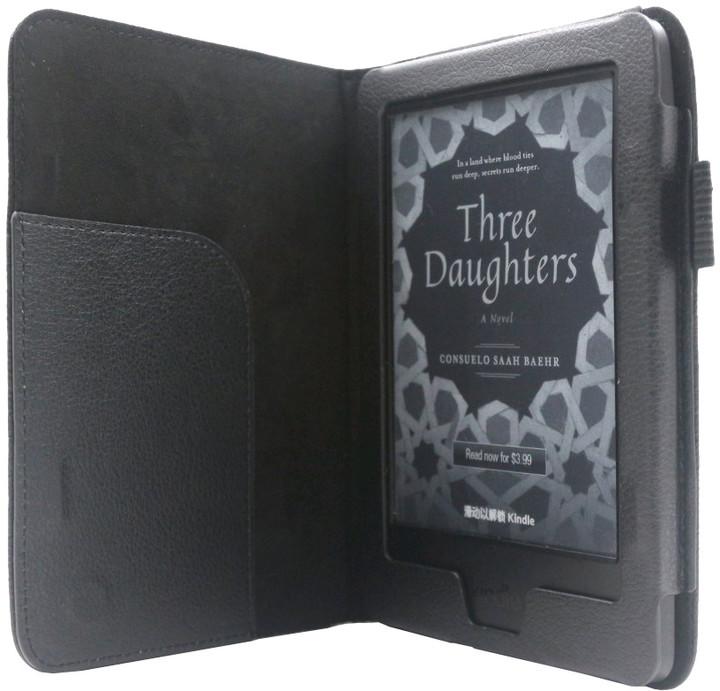 C-TECH PROTECT pro Kindle 8 TOUCH, WAKE/SLEEP funkce, AKC-11, černá