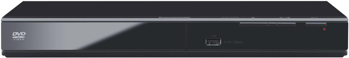 Panasonic DVD-S500EP-K, černá