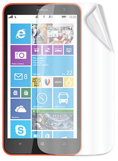 CELLY ochranná fólie displeje pro Nokia Lumia 1320, 2ks, lesklá