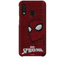 Samsung stylové pouzdro Spider Man pro Galaxy A40 - GP-FGA405HIBRW